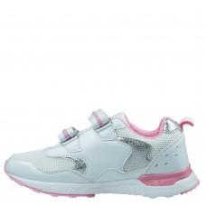 Кроссовки белые с розовым (33-38)