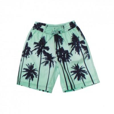 Шорты купальные с пальмами