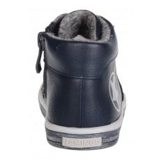 Ботинки синие звездочка-байка (21-26)