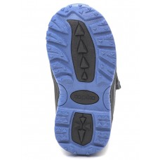 Ботинки мембранные синие с черным (23-27)