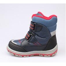 Ботинки мембранные синие с пауком (26-30)