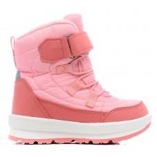 Ботинки розовые мембранные с мехом (21-25)