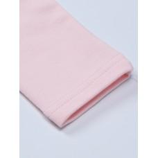 Толстовка розовая с кружевом
