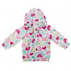 Куртка для девочки с розовыми бабочками