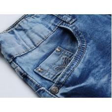 Юбка джинсовая с бабочкой