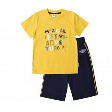Комплект для мальчика желтый musical festival