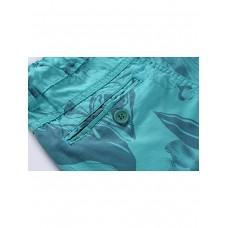Бриджи текстильные бирюза