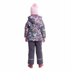 Куртка с нежным цветочным принтом