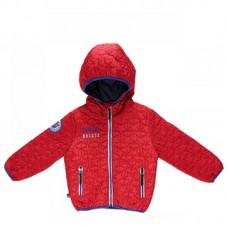 Куртка для мальчиков на флисовой подкладке звезды