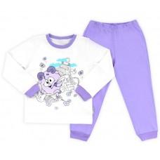 Пижама детская фиолетовая совунья