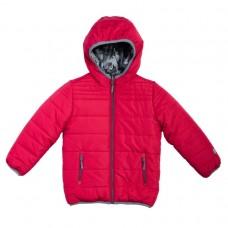 Куртка двусторонняя красная/милитари