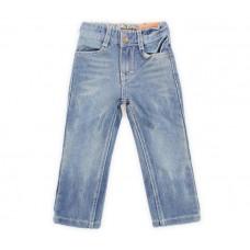 Брюки джинсовые для девочки с звездой