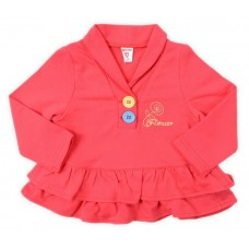 Платье для девочки клюква