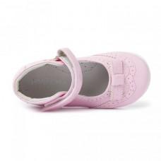 Туфли розовые с застежкой на липучке (20-24)