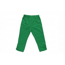 Бриджи для девочки зеленые
