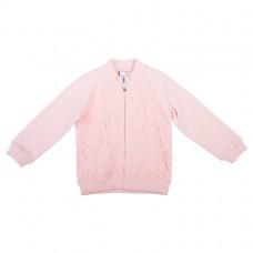 Розовая толстовка из футера с начесом