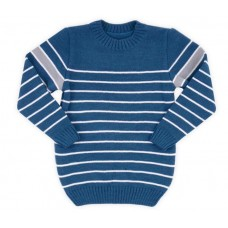 Джемпер для мальчика морская волна