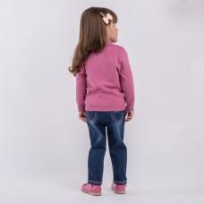 Джемпер детский трикотажный для девочек