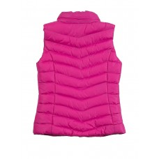 Жилет текстильный розовый