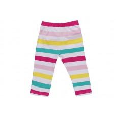 Бриджи для девочки с цветными полосами
