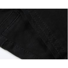 Брюки черные текстильные для мальчика