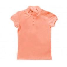 Блузка для девочки персиковая