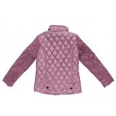 Куртка стеганая бордовая