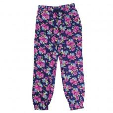 Брюки цветные текстильные для девочек