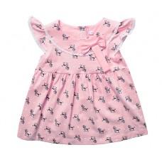Платье для девочки пудельки
