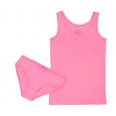 Комплект для девочки лососево-розовый
