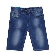 Бриджи джинсовые для мальчика темно-синие