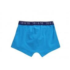 Комплект сине-голубых трусов-боксеров