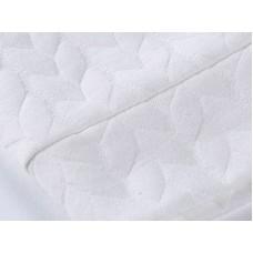 Белая толстовка из плотного фактурного трикотажа