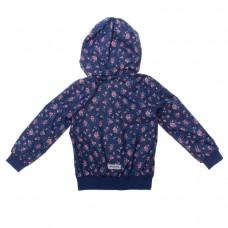 Куртка для девочки темно синяя
