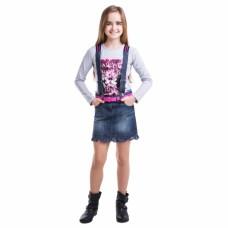 Юбка для девочки джинс
