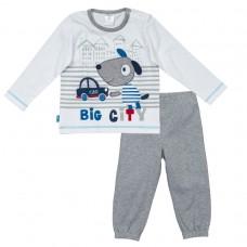 Комплект: футболка с длинным рукавом, брюки
