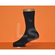 Носки трикотажные черные