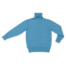 Джемпер для мальчика голубой трикотаж