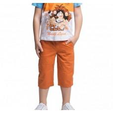 Бриджи для мальчика оранжевые