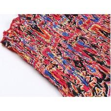 Легкий сарафан из принтованной ткани