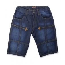 Бриджи джинсовые т.синие